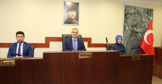 Çayırova'da Kasım ayı meclis toplantısı yapıldı