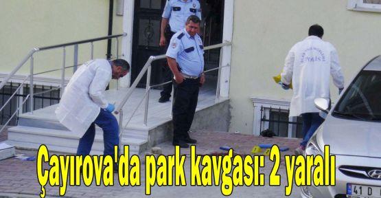 Çayırova'da park kavgası: 2 yaralı