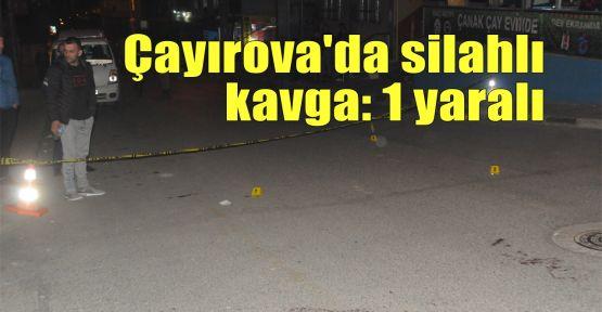 Çayırova'da silahlı kavga: 1 yaralı