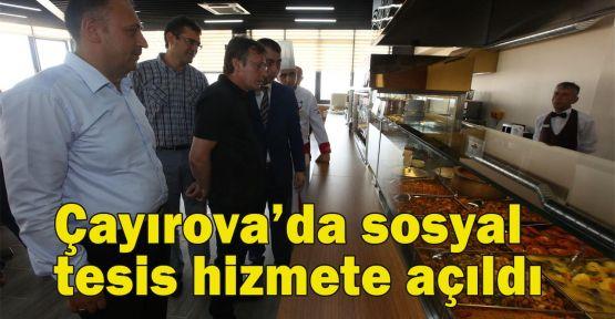 Çayırova'da sosyal tesis hizmete açıldı