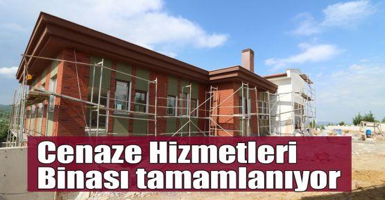 Cenaze Hizmetleri Binası tamamlanıyor