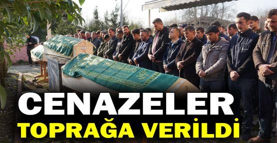 Cenazeler toprağa verildi