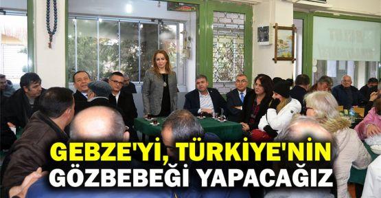Çetinkaya: Gebze'yi, Türkiye'nin gözbebeği bir kent yapacağız