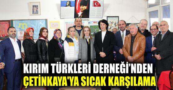 Çetinkaya'ya, Kırım Türkleri'nden sıcak karşılama