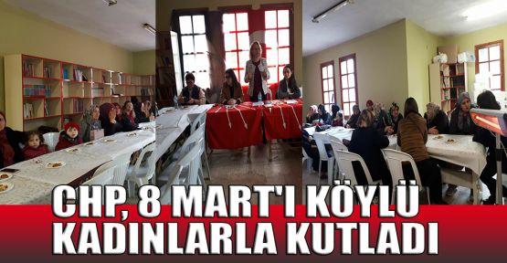 CHP, 8 Mart'ı köylü kadınlarla kutladı
