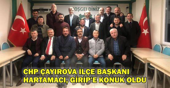 CHP Çayırova İlçe Başkanı Hartamacı, GİRİP'e konuk oldu