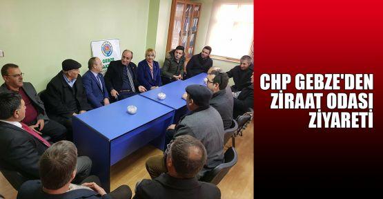CHP Gebze'de Ziraat Odası ziyareti