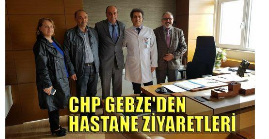 CHP Gebze'den hastane ziyaretleri