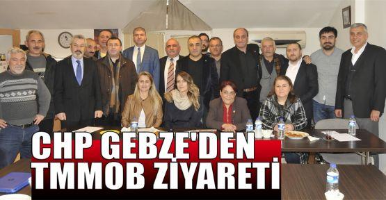CHP Gebze'den TMMOB ziyareti