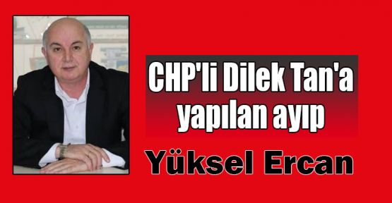 CHP'li Dilek Tan'a yapılan ayıp