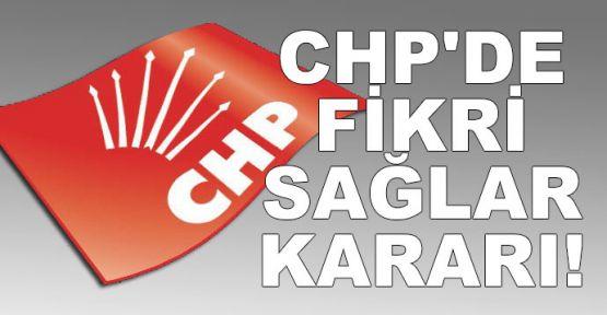 CHP'li Fikri Sağlar için disiplin soruşturması başlatıldı