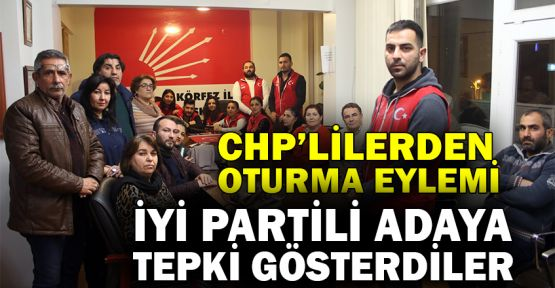 CHP'lilerden aday tepkisi