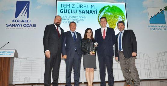 Çolakoğlu Metalurji çevre ödülü aldı
