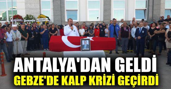 Cumhuriyet savcısı düğün için geldiği Gebze'de vefat etti