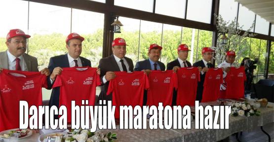 Darıca büyük maratona hazır