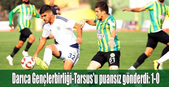 Darıca Gençlerbirliği-Tarsus'u puansız gönderdi: 1-0