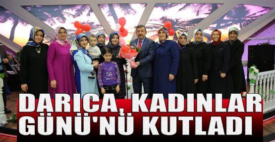 Darıca, Kadınlar Günü'nü kutladı