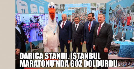 Darıca Standı, İstanbul Maratonu'nda göz doldurdu