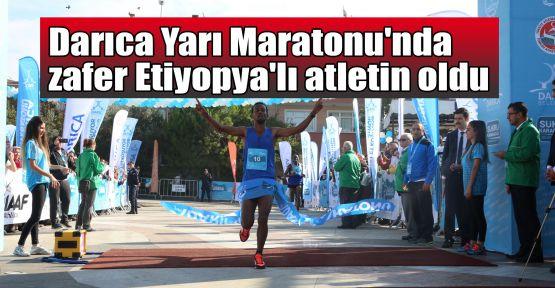 Darıca Uluslararası Yarı Maratonu'nu Etiyopya ve Kenyalı atletler kazandı