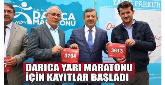 Darıca yarı maratonu için kayıtlar başladı