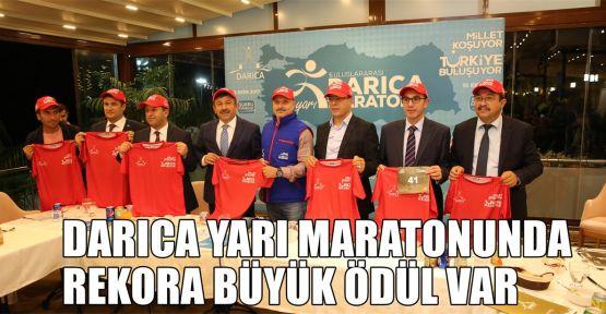 Darıca Yarı Maratonu'nda rekora büyük ödül var