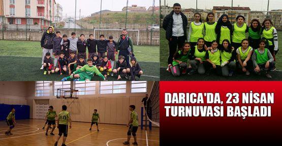 Darıca'da 23 Nisan Turnuvası başladı