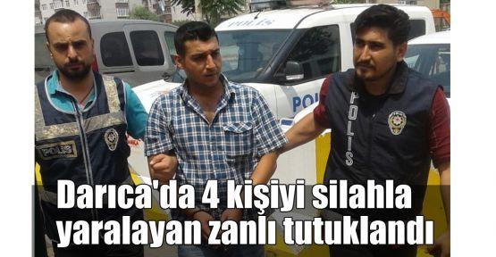 Darıca'da 4 kişiyi silahla yaralayan zanlı tutuklandı