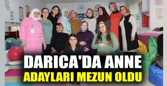 Darıca'da anne adayları mezun oldu