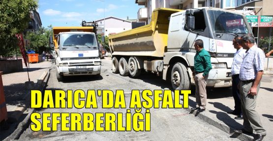Darıca'da asfalt seferberliği