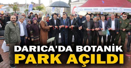 Darıca'da Botanik Park açıldı