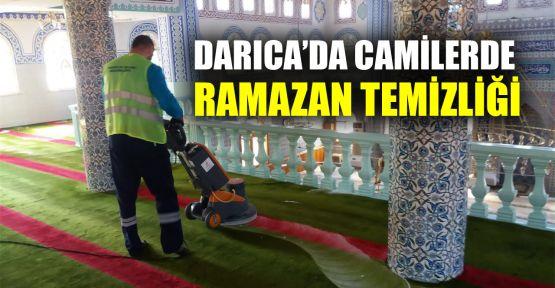 Darıca'da camilerde Ramazan temizliği