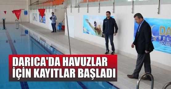Darıca'da havuzlar için kayıtlar başladı