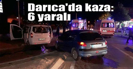 Darıca'da kaza: 6 yaralı