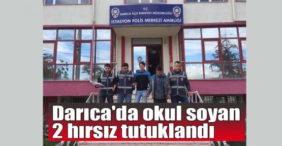 Darıca'da okul soyan 2 hırsız tutuklandı