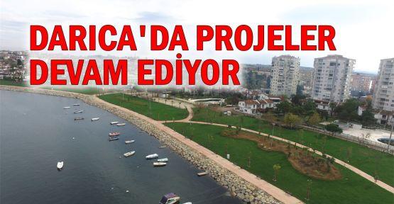 Darıca'da projeler devam ediyor