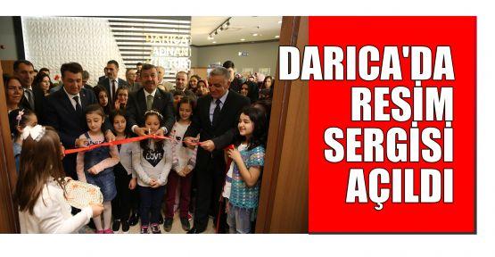 Darıca'da resim sergisi açıldı