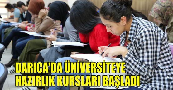 Darıca'da üniversiteye hazırlık kursları başladı