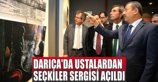 Darıca'da 'Ustalardan Seçkiler Sergisi' açıldı
