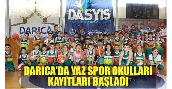 Darıca'da Yaz Spor Okulları kayıtları başladı