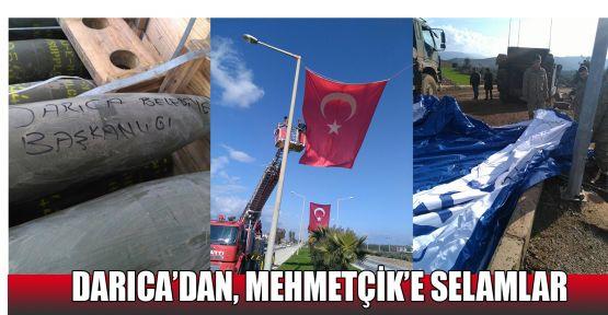 Darıca'dan, Mehmetçik'e selamlar