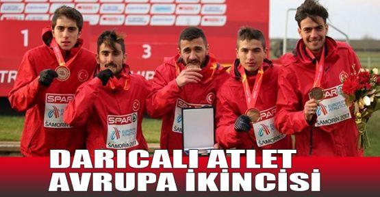 Darıcalı atlet Avrupa ikincisi