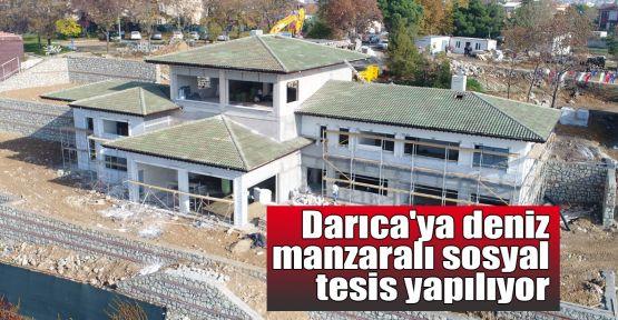 Darıca'ya deniz manzaralı sosyal tesis