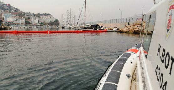 Denizi kirleten yata 63 bin lira ceza