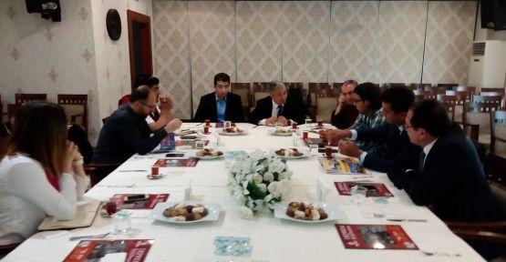 Deprem ve Kentleşme Çalıştayı koordinasyon toplantısı düzenlendi