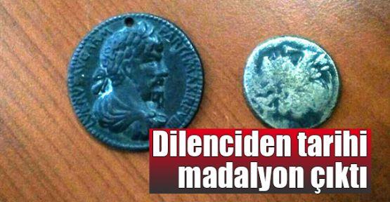 Dilenciden tarihi madalyon çıktı