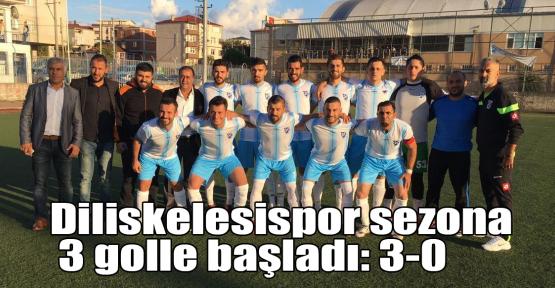 Diliskelesispor sezona 3 golle başladı