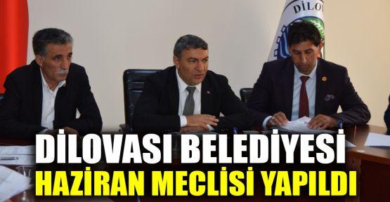 Dilovası Belediyesi Haziran ayı meclisi yapıldı