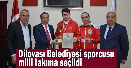 Dilovası Belediyesi sporcusu milli takıma seçildi