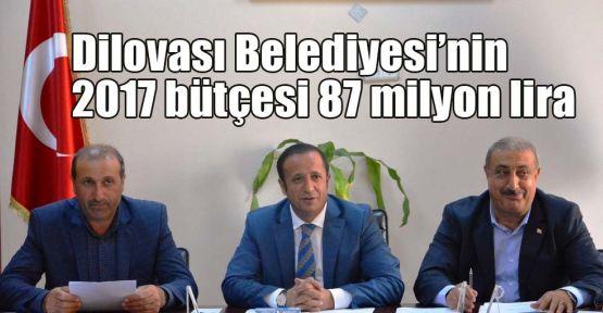 Dilovası Belediyesi'nin 2017 bütçesi 87 milyon lira