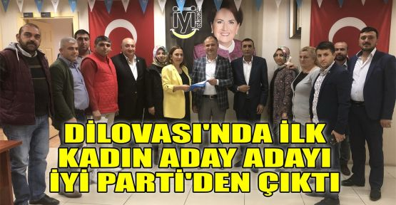 Dilovası'nda ilk kadın aday adayı İYİ Parti'den çıktı